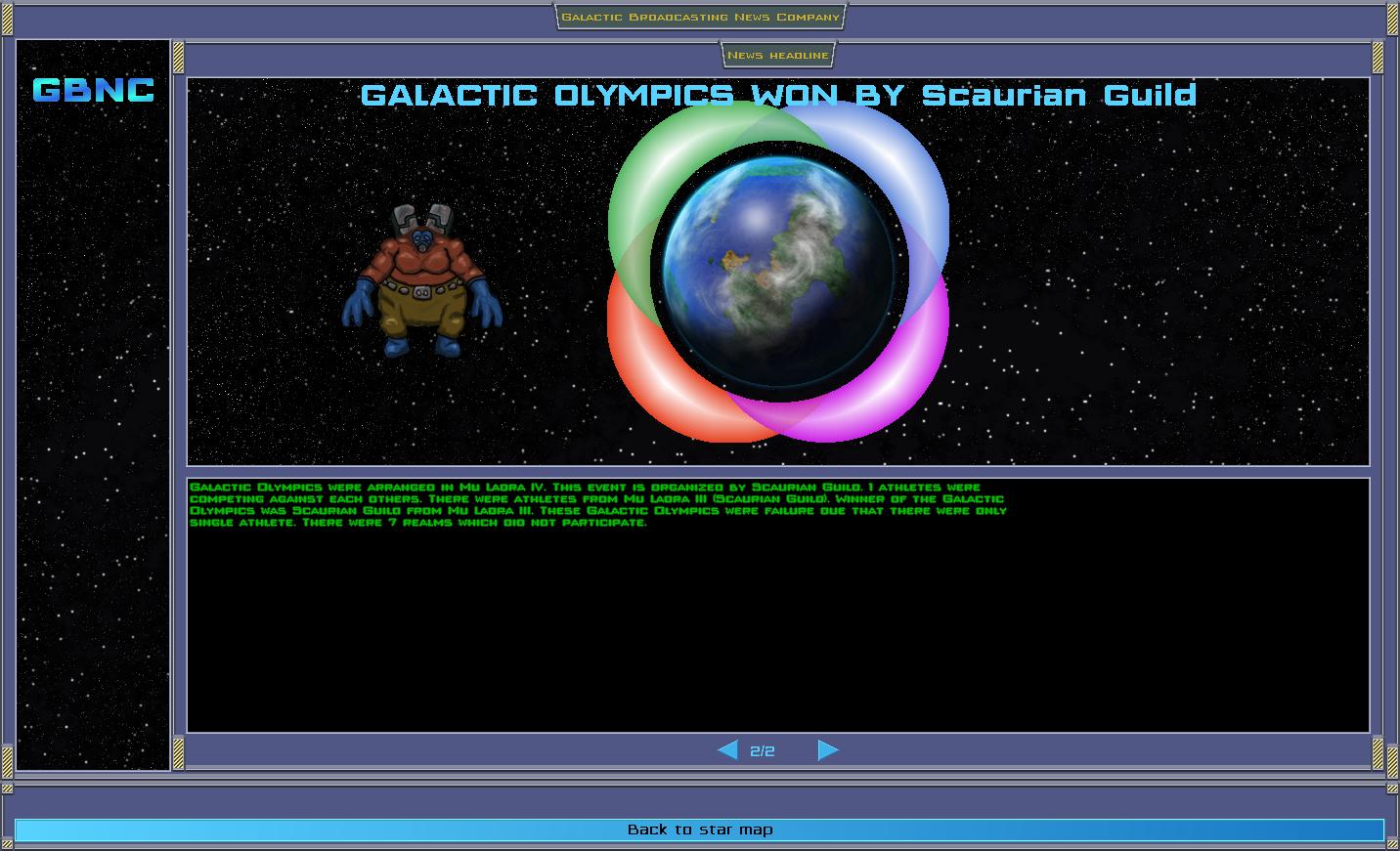 Galactic Olympics