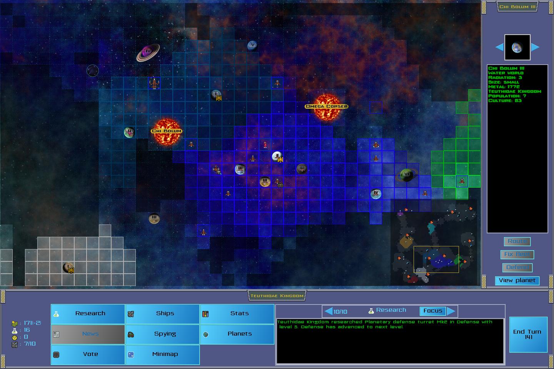 Starmap view